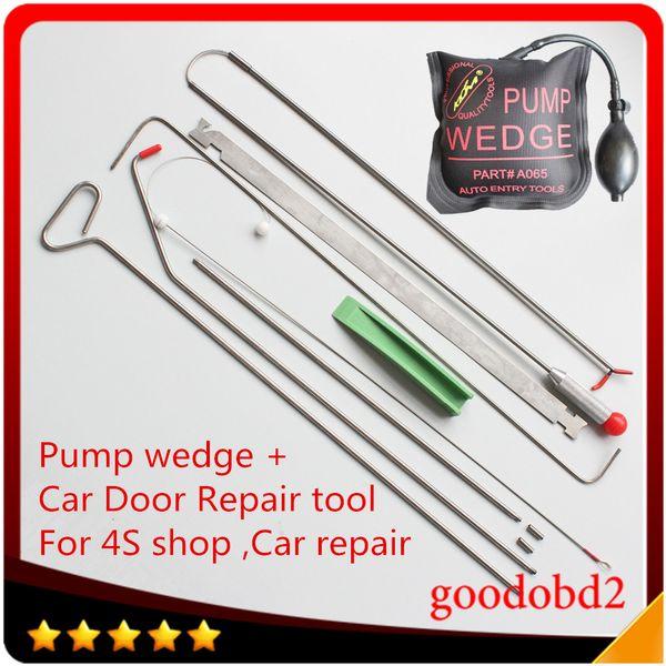 8PCS/lot Universal Pump Wedge Locksmith Tools Lock Pick Set Open Car Door Lock Opening Tools Car Radio Panel Removal Tools