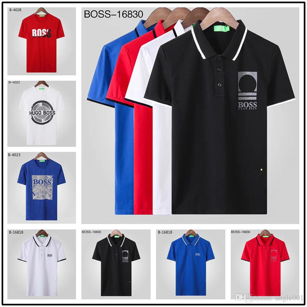 7d39a46f 2019 brand new Luxury designer casual men polo t shirt snake bee floral  embroidery mens polos