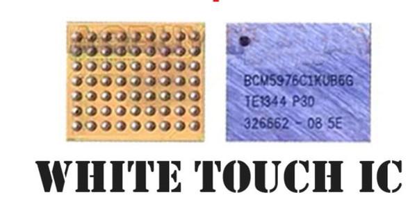 Chip IC U2401 U2402 Argento nero per iPhone 6 6+ Plus Touch Screen Chip IC U2401 U2402 Argento nero 343S0694