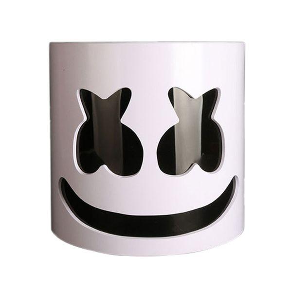 Compre Pvc Marshmello Casco Dj Marshmello Máscara Concierto Accesorios De Halloween Sombrero Adulto De Cosplay De Accesorios Para Los Niños Regalo De