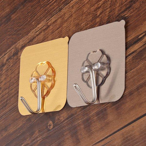 Kitchen Holder Traceless Hooks Wall Rack Seamless Adhesive Hook Storage Hanger