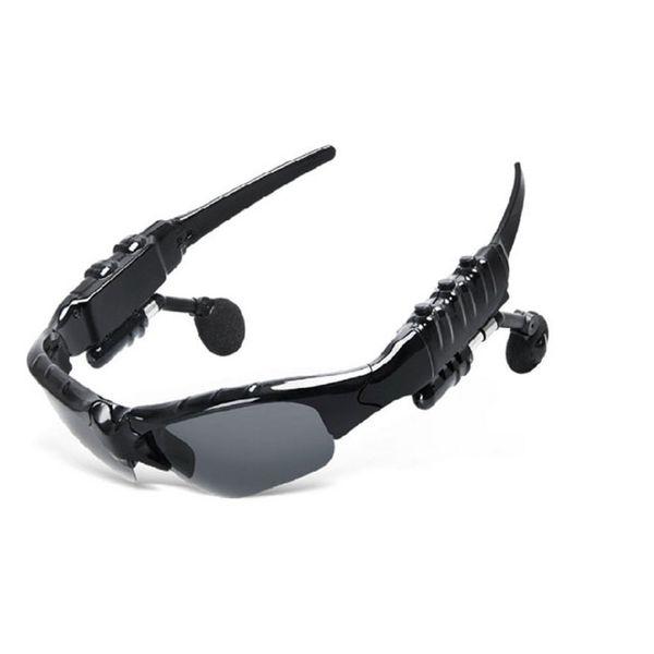 Gafas de sol polarizadas Auriculares Bluetooth Gafas exteriores Auriculares Música con micrófono Auriculares inalámbricos estéreo para todos los teléfonos móviles