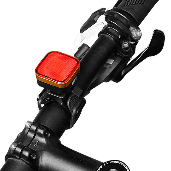 Cycling light Direct sale of 2287 mountain biking equipment USB bicycle rechargeable taillights night riding warning lights