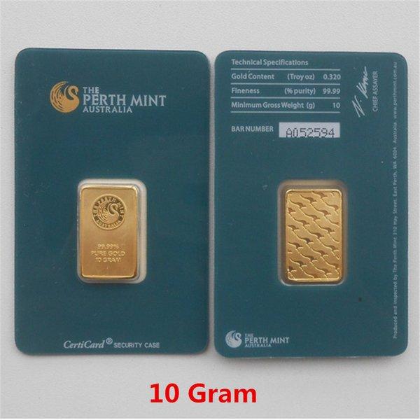 10 Gram Green Gold Bar