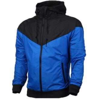 High Quality Cheap Price Windrunner Boy Girl Couple Men Women Sportswear Waterproof Fabric Sports Jackets With Zipper Hoodie Free Shipping
