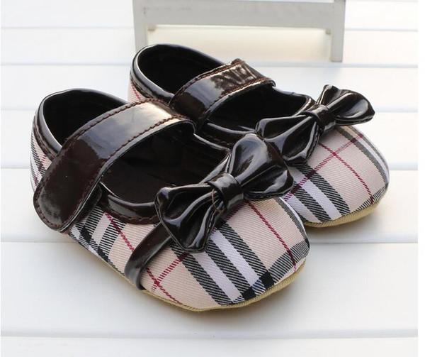 Nouveau Bébé Garçons Filles Toile Chaussures Haute Qualité Deux Bandes Nouveau-Né Bébé Toddler Mode Premiers Marcheurs Pour 0-18 Mois