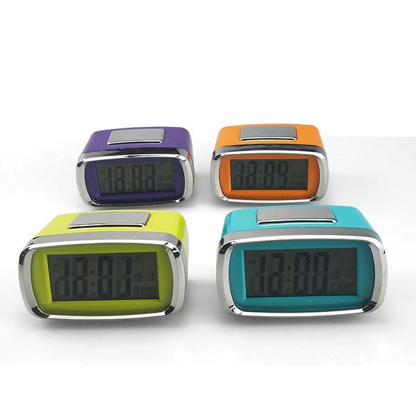 Reloj alarma digital Estudiante relojes con control táctil Repetir para el dormitorio temporizador cabecera del escritorio moderno