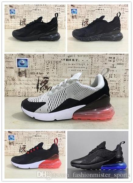 NIKE Air max 270 Mode de gros Hommes Chaussures Casual Marque hommes de qualité des femmes des espadrilles nouvelle 27c Respirant Léger Sneakers Taille MI118 40-45