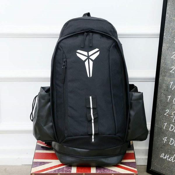 top popular Famous Brand Kobe Designer Backback Men Women School Bags Outdoor Backpack Black Red Designer Bag Student Backpack 2019