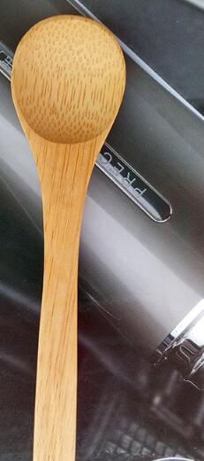 best selling DHL Freeshipping natural Bamboo spoon manufacturers direct sale of high-quality carbonized honey spoon gifts bamboo spoon