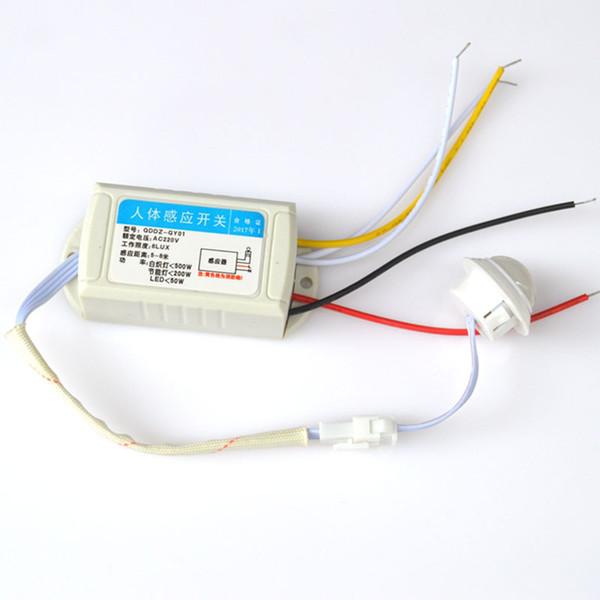 Ir Infrarot Körper Sensor Modul Intelligent Licht Motion Schalter 220V Nacht