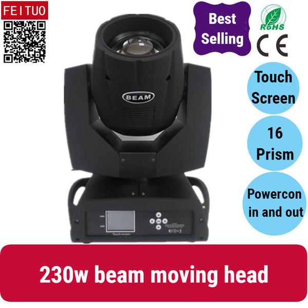 2X Clay Paky più venduto 16 + 8 doppio prisma touch screen 230w fascio di luce, sharpy 7R fascio 230w testa mobile luce discoteca lampada