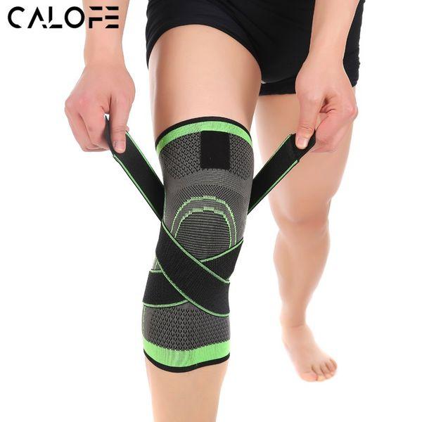 2018 genou soutien sport de protection professionnelle Genouillère respirante Bandage Brace Basketball Tennis Cyclisme Ceinture
