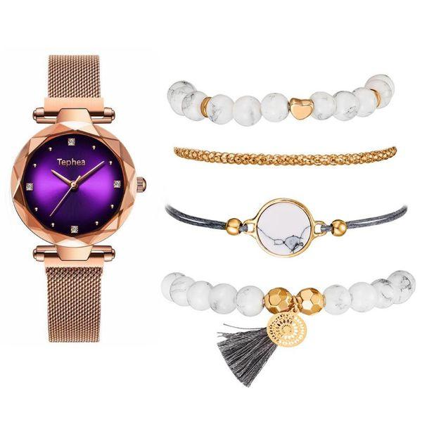 oro viola-braccialetto