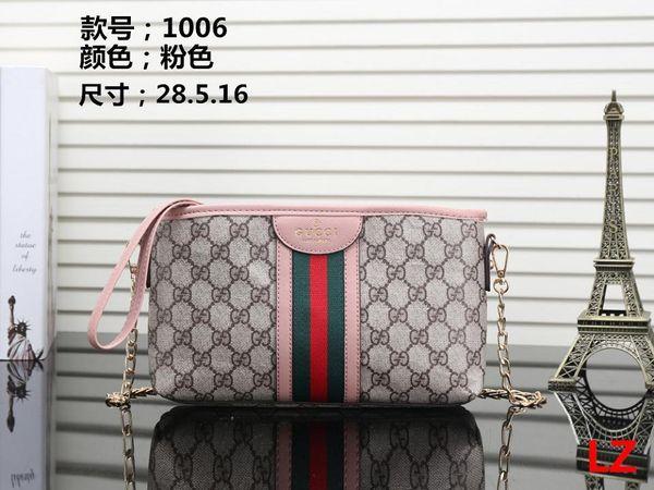 Hot! 2019 Wholesale Famous Brand Fashion Single Zipper Cheap Luxury Designer Women Pu Leather Wallet Lady Ladies Long Purse M17