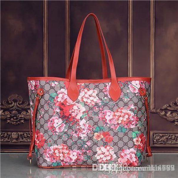 2018 styles Handbag Famous Designer Brand Name Fashion Leather Handbags Women Tote Shoulder Bags Lady Leather Handbags Bags purse1802