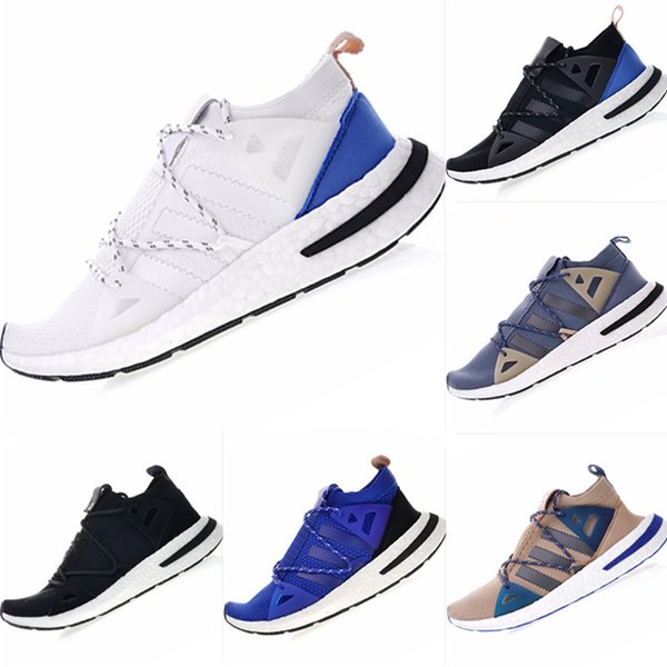 2019 New Arkyn Stretch Fabric Breathable Running Sneakers Originals Arkyn Consortium Naked Cushioning Outdoor Athletic Shoes