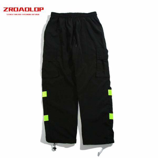 2018 Nuovo Arrivo Inverno Uomo Pantaloni Cargo Grandi Tasche Harajuku Hip Hop Casual Streetwear Pantaloni Sportivi Pantaloni Pantaloni Pantaloni Harem