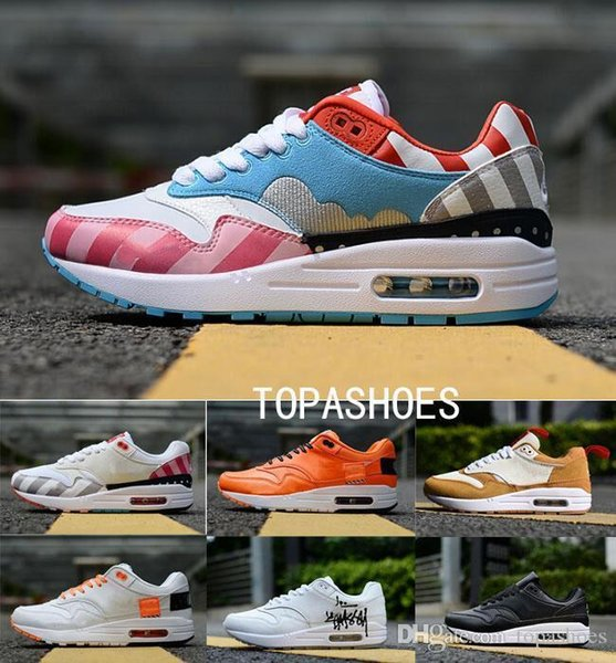 Wholesale Men Designer 2019 Running Air Cushion Casual Trainers Women 30th Anniversary Sports Outdoor Hiking Jogging Shoes 36-45