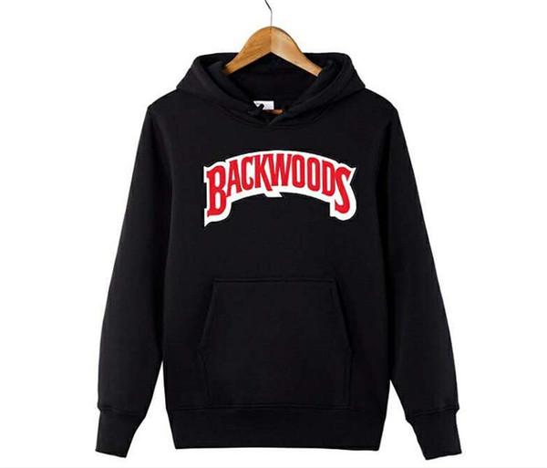 Backwoods Lettre Print Sweatshirts Designer De Mode Automne Hoodies Manches Lâches Couple Vêtements Ras Du Cou Vêtements Casual