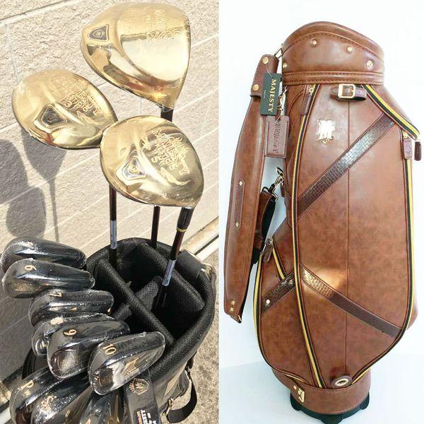 New men golf club maruman maje ty pre tigio golf complete club et driver fairway wood putter bag graphite haft headcover hipping