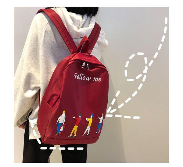 27a96ebd1 Fashion Luxury Designer Backpacks Mens Womens Bags Girls Schoolbag Girls  Campus Backpack Waterproof Shoulder Bag Ins