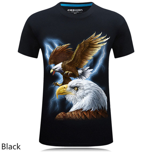 T-shirt Monkey Lion 3D Numérique Imprimé T-shirt Homme Grande Taille S-6XL