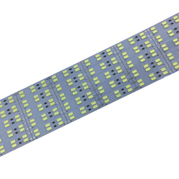 Fabrika Toptan Çift Sıra DC 12V, 144Leds SMD 5630 5730 LED Sert Sert LED Şerit Bar Işık Supper Parlak Parlaklık