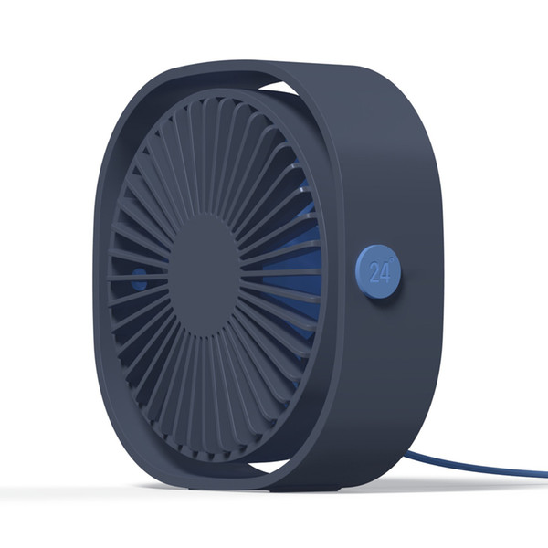 Small Personal USB Desk Fan,3 Speeds Portable Desktop Table Cooling Fan Powered by USB,Strong Wind,Quiet Operation,for Home Office Car