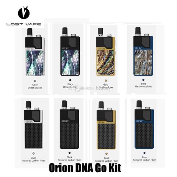 Authentic Lost Vape Orion DNA Go Starter Kit 950mAh Batetry E-Cigarette Vape Kits For 2ml Pod Cartridge 100% Original LostVape