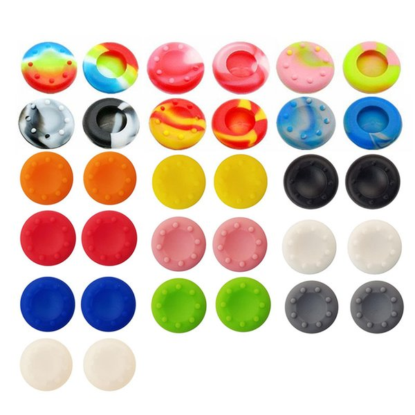 Silicone Analog Thumb Stick Grips Caps for PlayStation 4 PS4 Pro Slim / PS3 Controllers Thumbsticks Caps for XBox 360/XBox One Elite X S