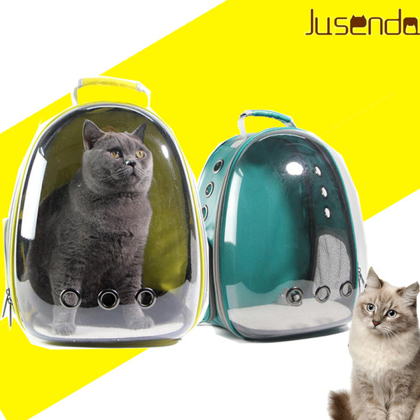 Cat-carrying backpack Pet Cat Backpack for Kitty Puppy Chihuahua Small Dog Carrier Crate Outdoor Travel Bag Cave for cat D19011201