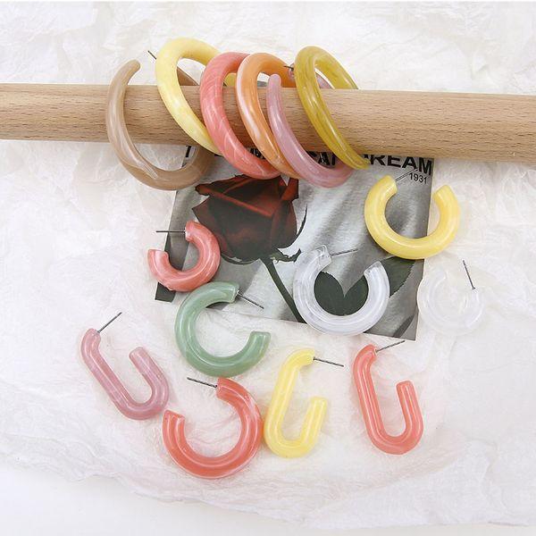 DIY ювелирные изделия ручной работы аксессуары Япония и Южная Корея простая уксусная кислота серьги в форме серьги