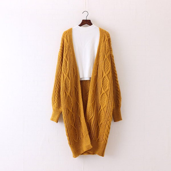 yellow women sweater