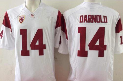 #14 Sam Darnold White