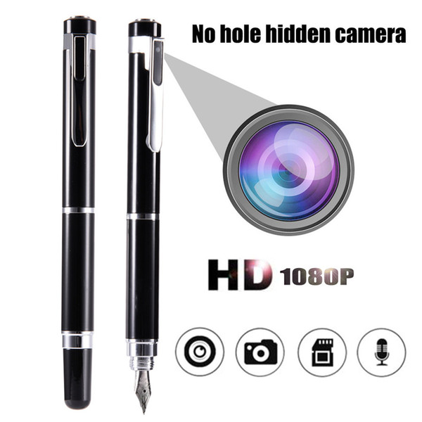 New fashion gift invisible pen 1080P HD camera USB charging recorder support TF card photo gift box packaging