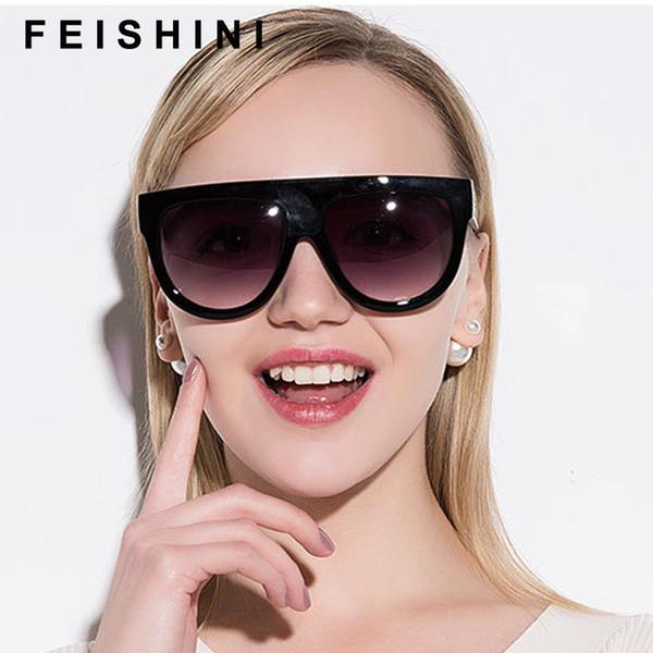 vendita all'ingrosso occhiali da sole rossi di plastica donne lente sfumata uv400 occhiali da sole occhiali da sole marca signore occhiali unisex oculos all'ingrosso