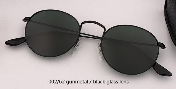 002/62 schwarz / schwarze Glaslinse