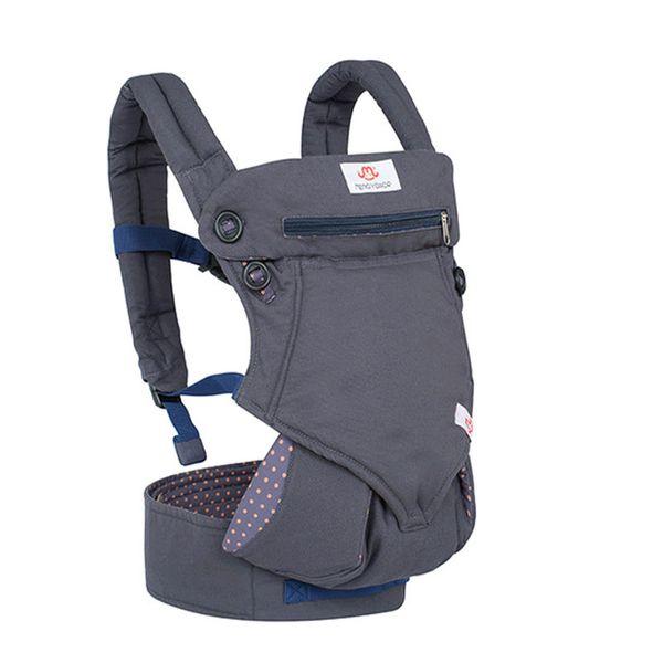 Marsupi ergonomici Zaini Sling Wrap Cotton Infant Newborn Carrying Belt Per la mamma / papà traspirante Anteriore fronte Kangaroo Y190522