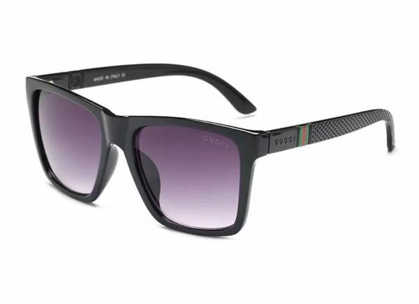 2018 marka Güneş Kadınlar Tasarımcı Güneş Gözlükleri Erkekler Vintage Kadınlar Büyük Çerçeve Açık Sunglass