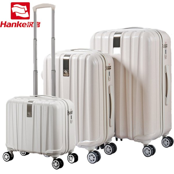 Best Spinner Luggage Bag Trolley Case Travel Valise Rolling Wheel Suitcase Carry-On Boarding Plane Men Women Trip Journey H80002