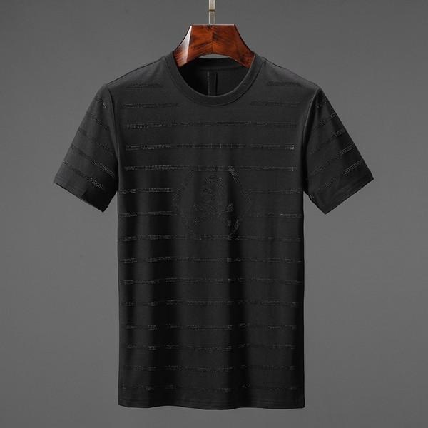 T-shirt de manga curta 2019 verão novo homem a01
