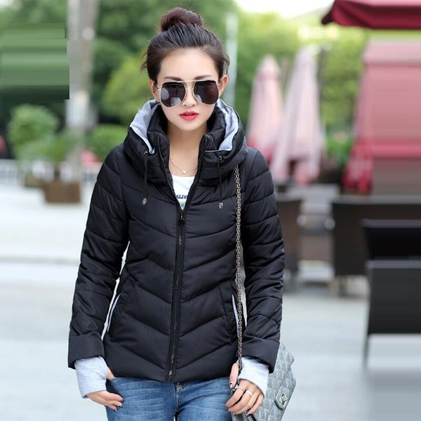Hooded black