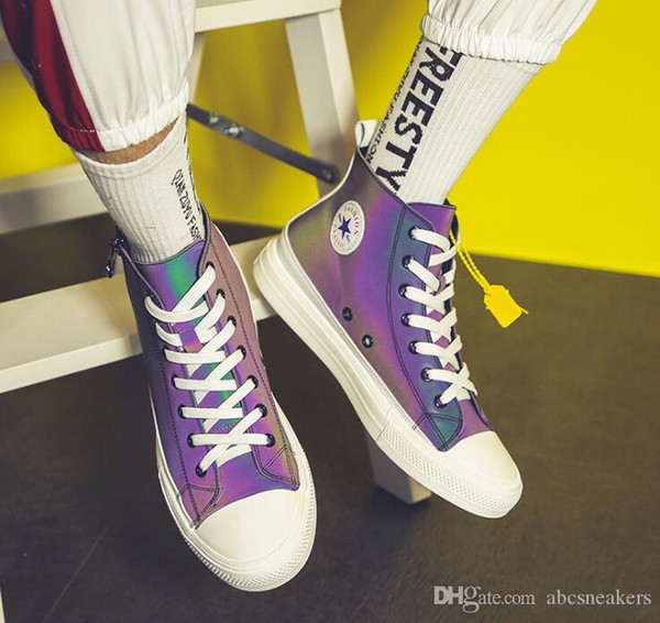 2019 новый 3M хамелеон повседневная спортивная мужская обувь с низким верхом холст кроссовки Кроссовки