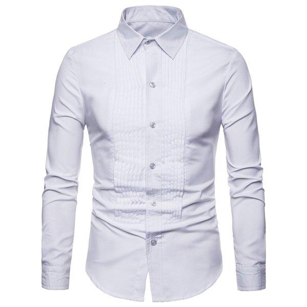 Chemise de chemise blanche