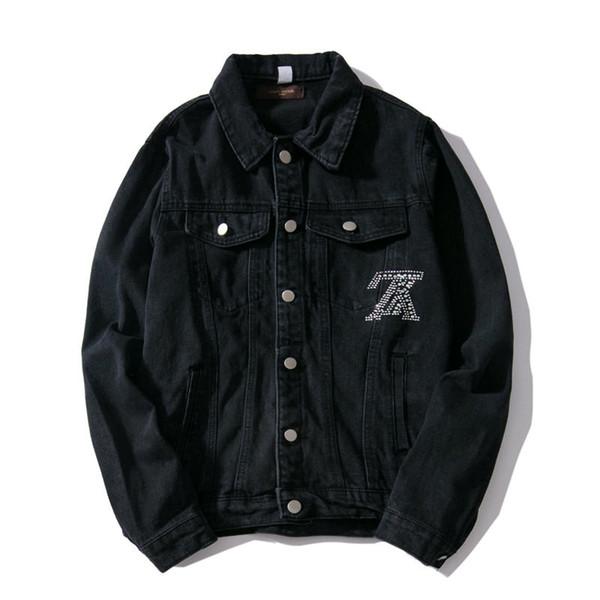 Chaquetas de mezclilla de diseñador para hombre de lujo 2019 Nuevos hombresMujeres chaqueta de mezclilla Casual Unisex Pareja Streetwear chaqueta para hombre Top ropa