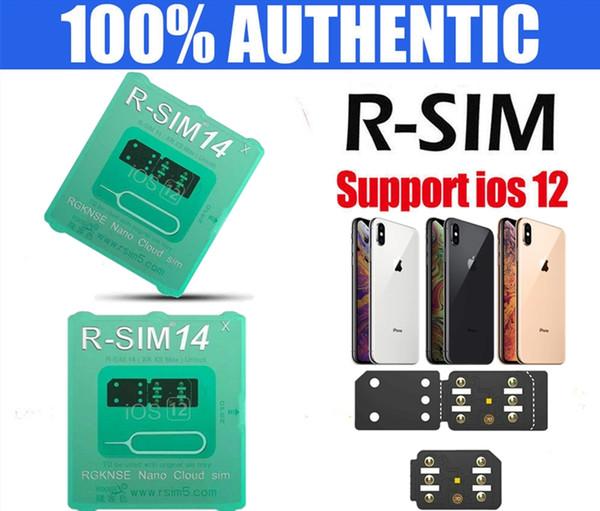 R-SIM 14 - Desbloqueo instantáneo de SIM para iPhone X / XS / XR / Max / 8/7/6 / 6S