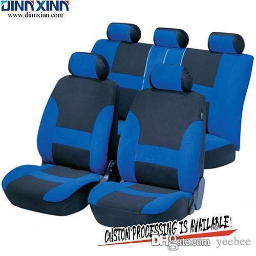 DinnXinn TY020 Lexus 9 pièces ensemble complet polyester siège automobile japonais couvre société d'exportation de la Chine