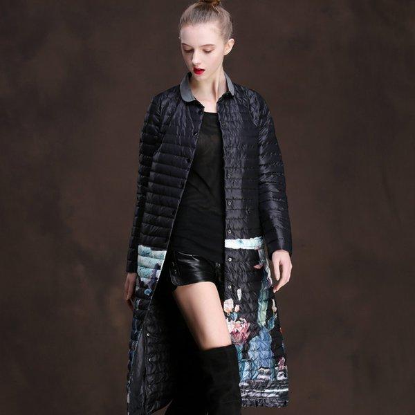 Down Jacket parkas femmes automne manteau d'hiver Veste Femme Vêtements Femme coréenne Vintage 2019 coupe-vent Hauts Casaco ZT3857