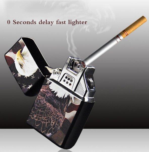 ONUOSS High Cross Arc qualità Accendino USB Pulse antivento plasma accendini elettronici metallo Uomini Cigarette Accessori 220V